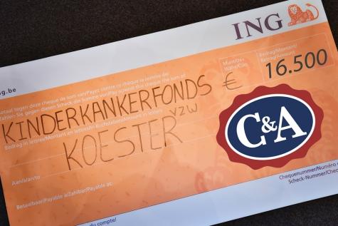 Koester cheque CA