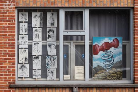 Kunst achter glas oproep - © Annick Gentier