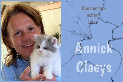 Kunstenaars achter glas - Annick Claeys © Lochristinaar