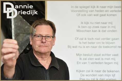 Kunstenaars achter glas - Dannie Driedijk - Bennie Vanderpiete ©