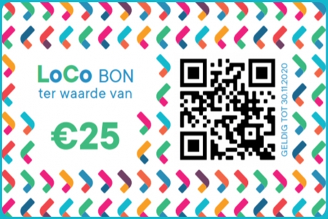LoCo-Bon geldig tot eind januari 2021