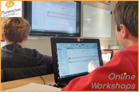 Muziekschool Lochristi Online Workshops - © Muziekschool