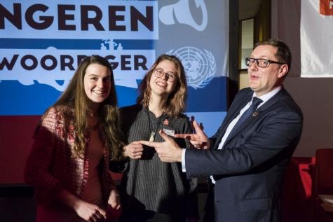 klimaatzaak Vlaamse jeugdraad Nele Van Hoyweghen Lochristi