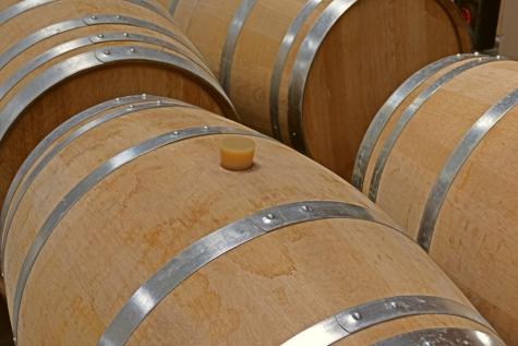 botteling wijn 2019 Nobel Lochristi vat franse eik