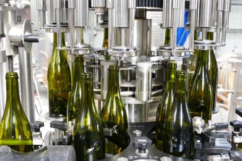 Wijn domein Nobel Lochristi 2019 botteling