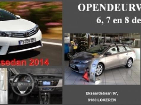 Opendeur bij Toyota