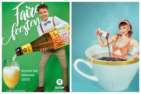 Geschenkenbeurs Oxfam in Zeveneken