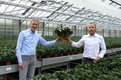 plantjesweekend 2021 kom op tegen kanker Lochristi Frank De Boosere Chrisitoph Stevens