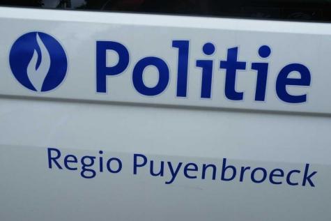 politie pz 5416 Lochrisit Wachtebeke Moerbeke Zelzate
