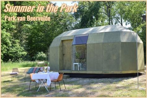 logeren park Beervelde glamping tortiga summer