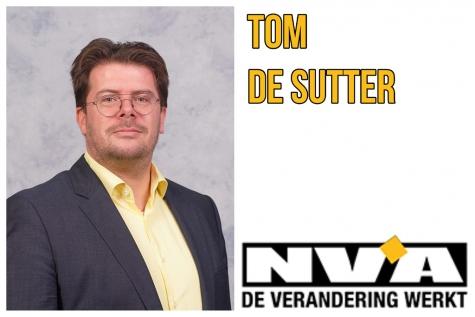 Raadslid Tom De Sutter (N-VA) neemt ontslag Lochristinaar