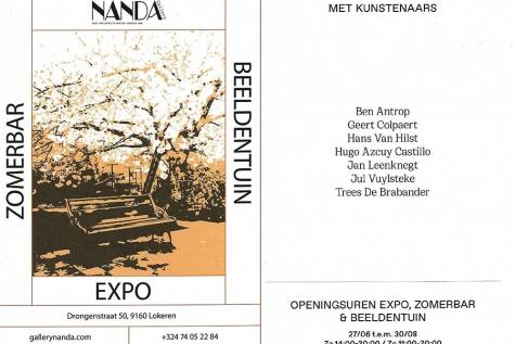 expo zomerbar Nanda Lokeren