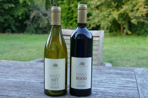 Waes wit Waes rood Zwijnaarde wijndomein
