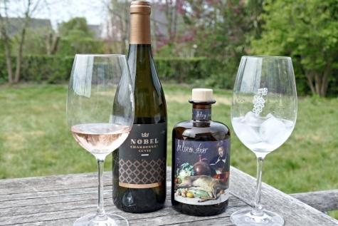 wijn gin De Lozen Boer wijndomein Nobel