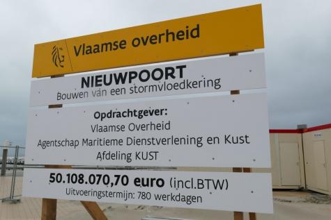 stormvloedkering Nieuwpoort
