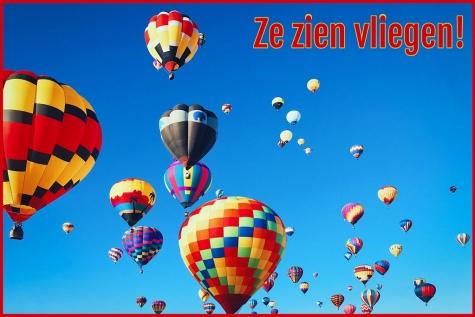 Ballonnen boven Lochristi