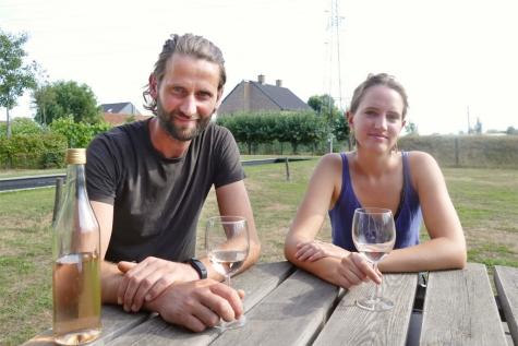 Trine Spitaels en Jan De Bock