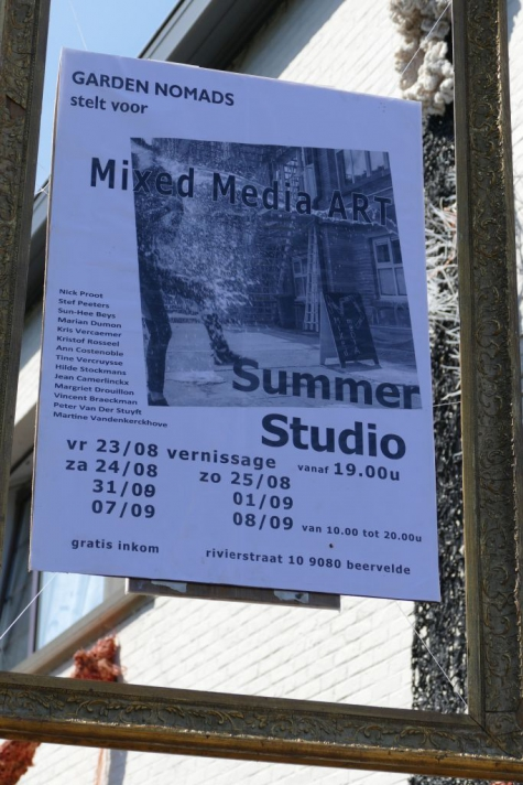 Mixed Media Art Summer Studio Beervelde