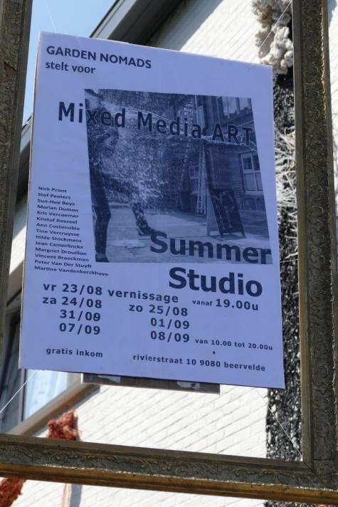 Mixed Media Art Summer Studio Beervelde