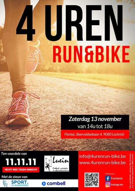 4 Uren Run & Bike Aankond 2021 - Affiche © Lasse Behnke & Obe Vermeulen