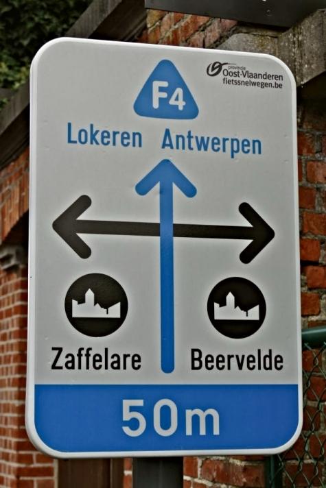 fietssnelweg f4 Beervelde station