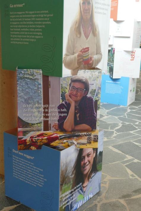 Samen veerkrachtig tentoonstelling Lochristi